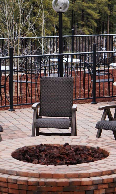 White Leaf Landscaping Outdoor Fire Pits