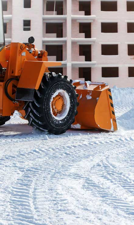 White Leaf Landscaping Commercial Snow Removal