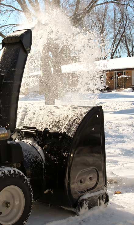 White Leaf Landscaping Residential Snow Removal